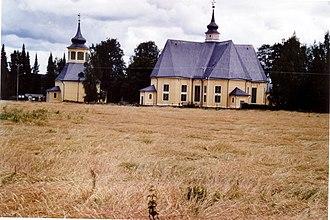 Ruovesi - Image: Ruovesi Church