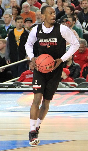 Russ Smith (basketball) - Smith in 2013