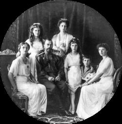 Nicolau i la seva família, 1913