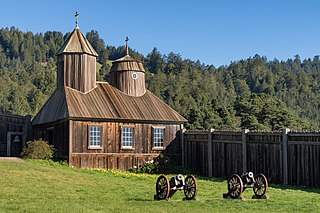 Fort Ross, California United States historic place