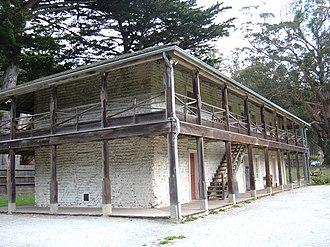 Sánchez Adobe Park - Image: Sánchez Adobe exterior 1
