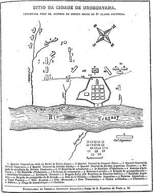 Siege of Uruguaiana - Siege of Uruguaiana