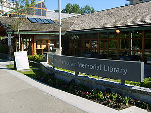 West Vancouver Memorial Library - West Vancouver Memorial Library
