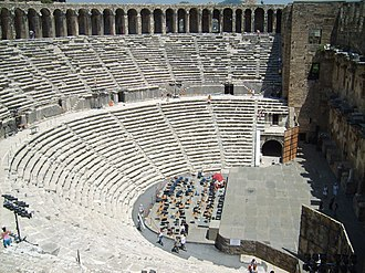 International Antalya Film Festival - The ancient amphitheatre of Aspendos
