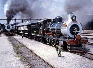 South African Class 6 4-6-0 - Image: SAR Class 6 439 (4 6 0) ex CGR 368 568 OVGS 68 CSAR 344