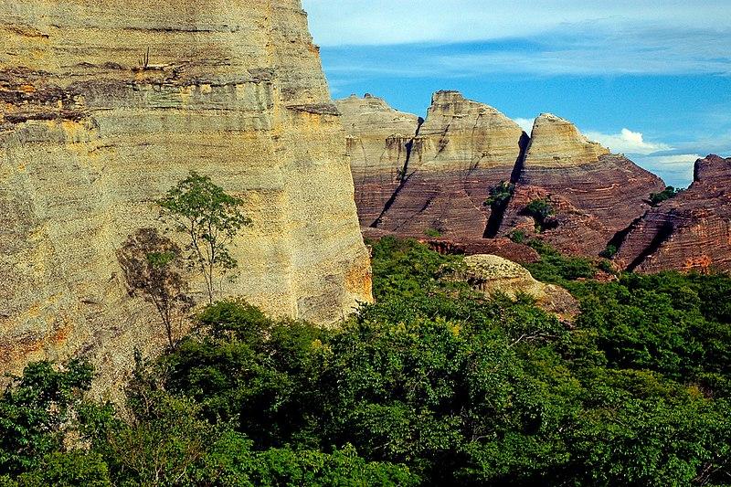 Patrimônio Cultural da Humanidade no Brasil verde