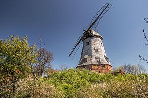 Olędrzy - A windmill in Palczewo – one of the remnants of Olęder settlements in Żuławy