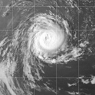1999–2000 Australian region cyclone season - Image: STC Kirrily 29 jan 2000 0931Z