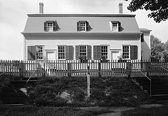 New Gloucester, Maine - Image: Sabbathday Lake Shaker Community Meetinghouse, West of State Route 26, South of North Raymond Road, Northwest edge of church family area, Sabbathday Lake Village (Cumberland County, Maine)