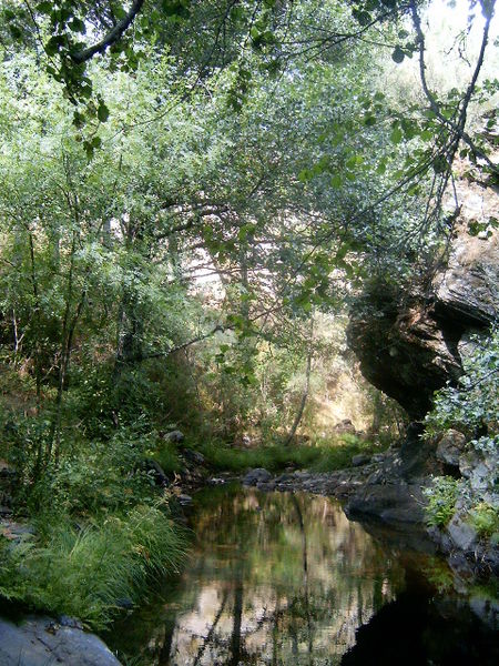 Rio Sabor, na Serra de Montesinho