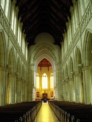 Sacred Heart Cathedral, Bendigo - Image: Sacred heart bendigo interior