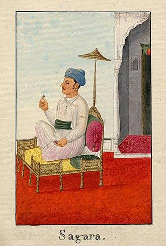 King Sagara - Sagar, a Vedic King and ancestor of Rama