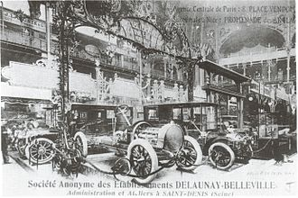 Delaunay-Belleville - The Delaunay-Belleville factory at Saint-Denis