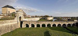 Saint-Martin-de-Ré - Ditch and fortifications in Saint Martin de Ré