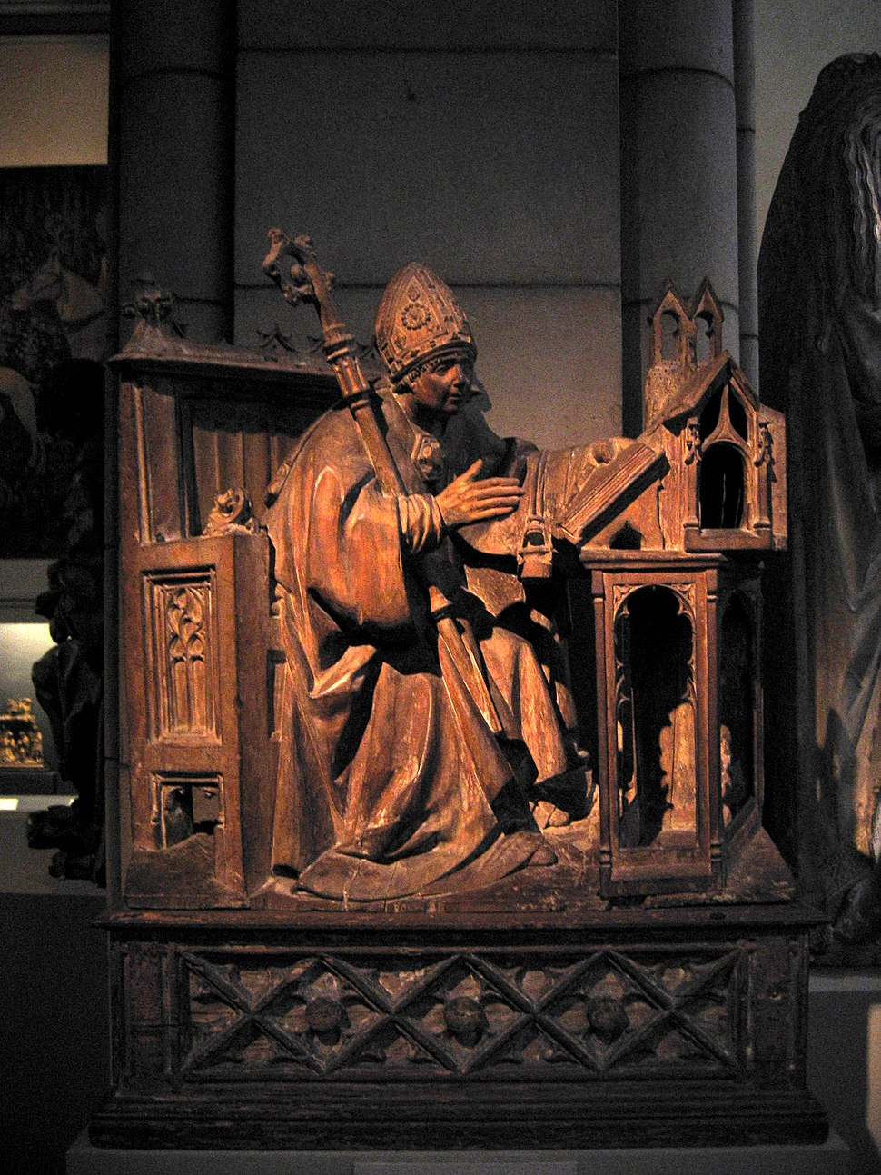 Saint Ambrose in His Study 1