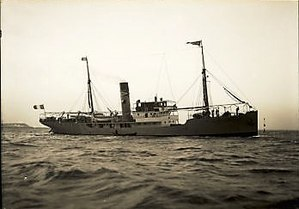 SS Dorrigo - SS Dorrigo as the SS Saint Francois undergoing sea trials in 1913