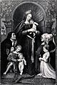 Saint Mary (the Blessed Virgin) with the Christ Child and a Wellcome V0034157.jpg