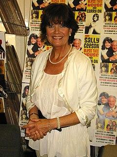 Sally Geeson British actress