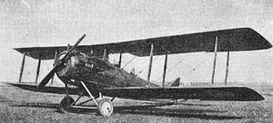 Lewis H. Brereton - Salmson 2 armed reconnaissance aircraft