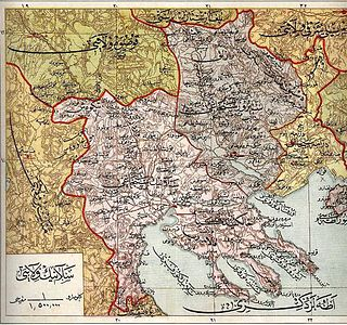 Administrative division of the Ottoman Empire