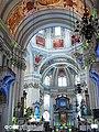 Salzburg Cathedral (Inside) - Mozart Baptized place 2. - Mozart-Complexes World under Water (Blue Lights).jpg