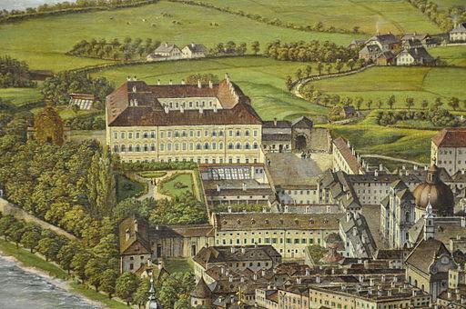 Salzburg Sattler-Panorama Mirabell