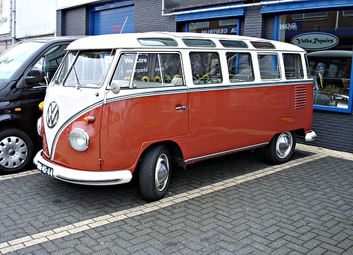 VW Type 2 Samba Bus T1 split screen