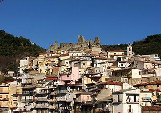 Lamezia Terme - District San Teodoro with Norman-Swabian castle