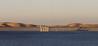 San Luis Dam Dam in Merced County, California