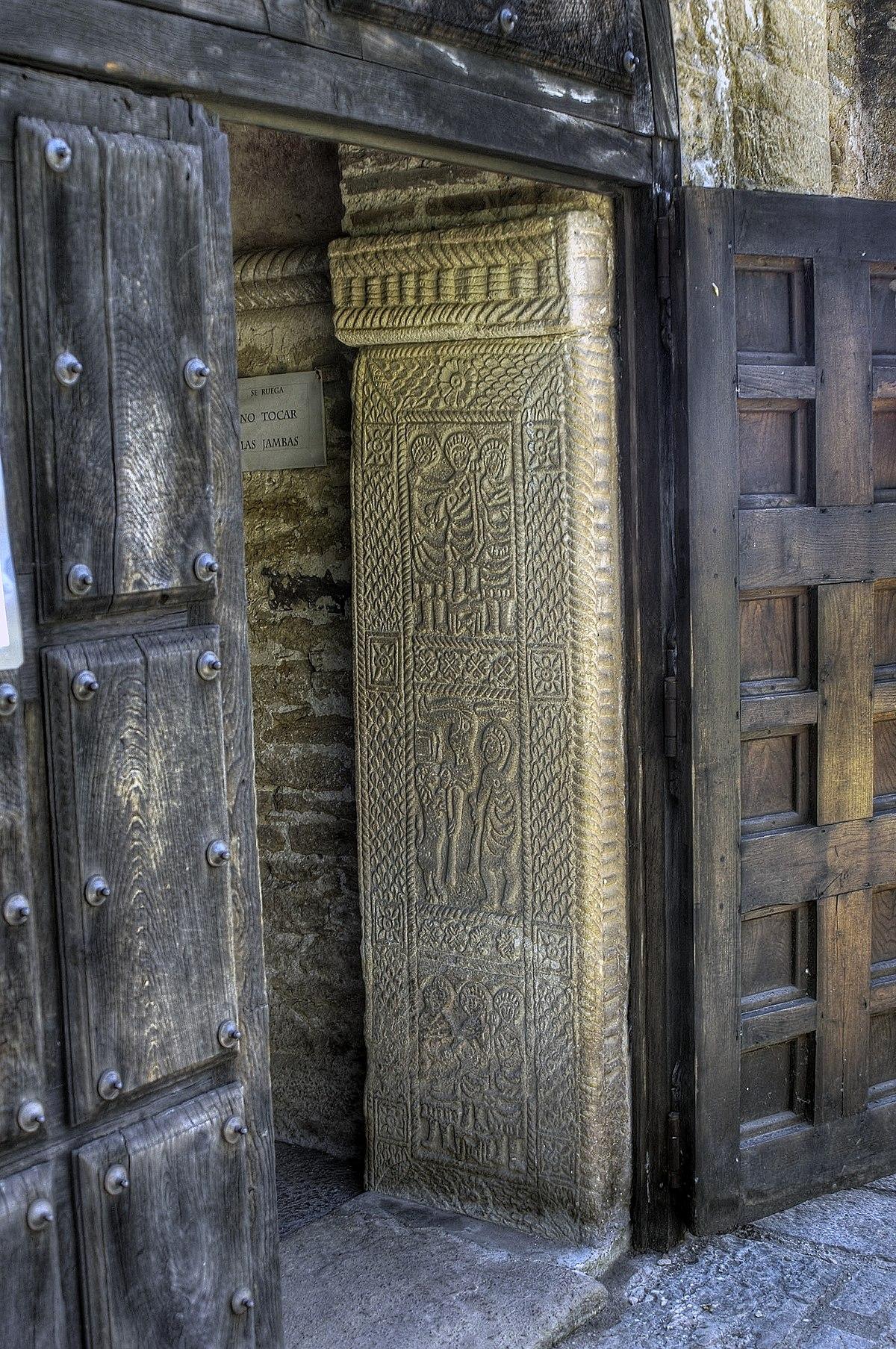 Resultado de imagen de jambas de la puerta san miguel de lillo