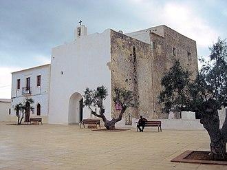 Formentera - Image: Sant Francesc Formentera