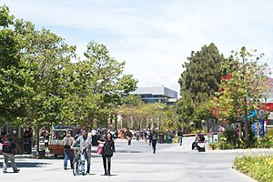 English: Santa Monica College Campus Boardwalk...
