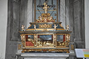 Saint Sabina - The relics of St. Sabina