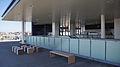 Sashiogi Station north terrace 20140315.JPG