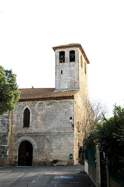 Sauvian (Hérault) - église Saint-Corneille-et-Saint-Cyprien - clocher