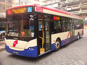 Public transport in the Klang Valley - Scania K270UB4x2 operated by Rapid KL.