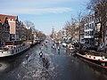 Schaatsen op de Prinsengracht in Amsterdam foto20.jpg