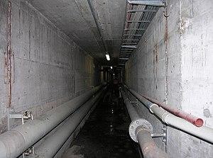 Utility tunnel - Image: Schiffbau tunnel