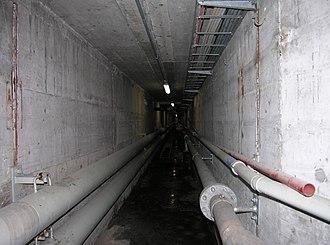 Utility tunnel - Image: Schiffbau tunnel