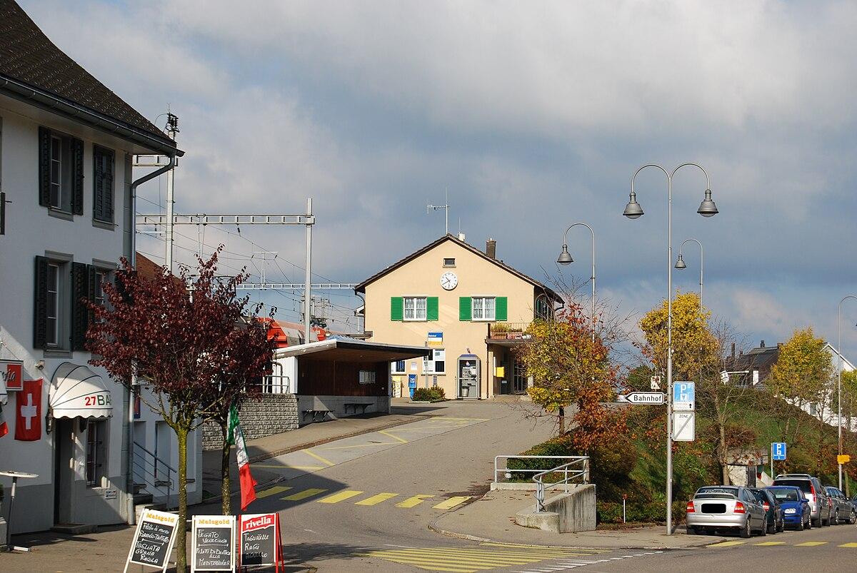 Schindellegi-Feusisberg railway station - Wikipedia