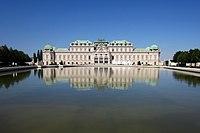 Schloss Belvedere von Johann Lucas von Hildebrandt für Prinz Eugen von Savoyen erbaut - panoramio.jpg