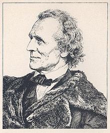 Julius Schnorr von Carolsfeld, gezeichnet von Hugo Bürkner (Holzschnitt) (Quelle: Wikimedia)