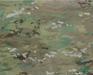 Operational Camouflage Pattern - A close-up of a portion of the pattern