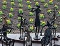 Sculptures with Flower Backdrop - Farm Tomita - Nakafurano - Hokkaido - Japan (48006030831).jpg