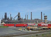 Scunthorpe-blast-furnaces-by-Alan-Murray-Rust