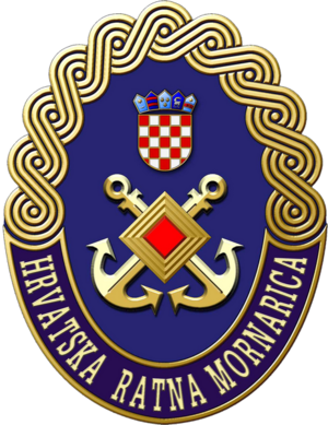 Fregattenleutnant - Image: Seal of Croatian Navy