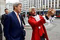 Secretary John Kerry Poses for a Selfie With a Mozart Impersonator in Vienna (27048565415).jpg