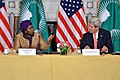 Secretary Kerry Listens as AU Commission Chairperson Dlamini-Zuma Speaks at the Annual U.S.-African Union High Level Dialogue (16948284708).jpg