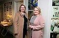 Secretary of State Karen Bradley MP visits Shankill Women's Centre (26647418208).jpg