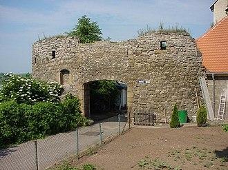 Fortified gateway - Fortified gateway of Seeburg Palace
